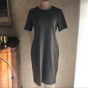 H&M Green Sheath Dress
